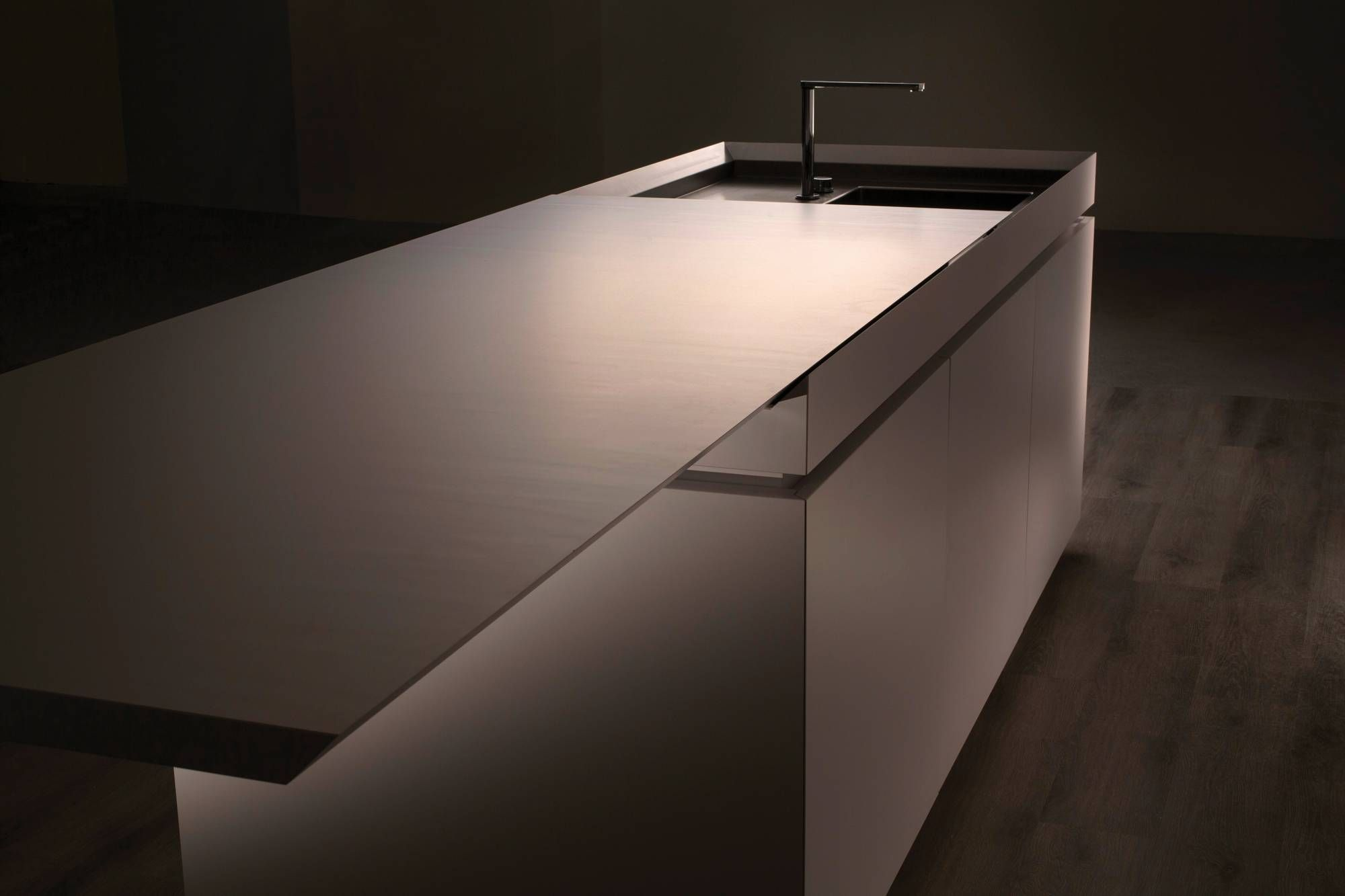 Strato Küchen Strato Cucine Kitchen Counter Slides Over Washbasin House