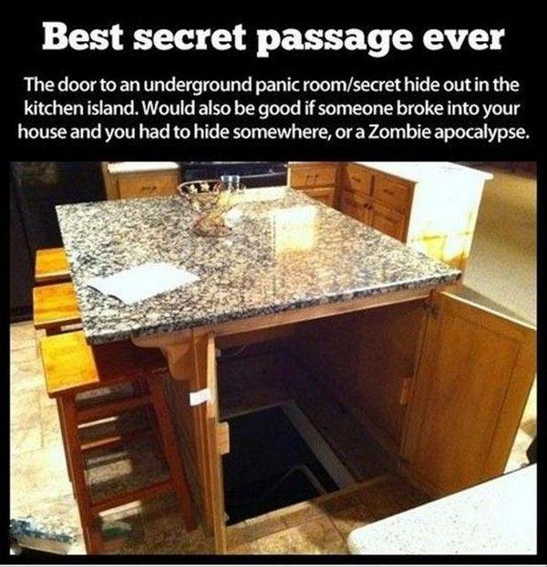 Panic Room/Secret Hideout (Why Iu0027m Demanding An Island In My Dream