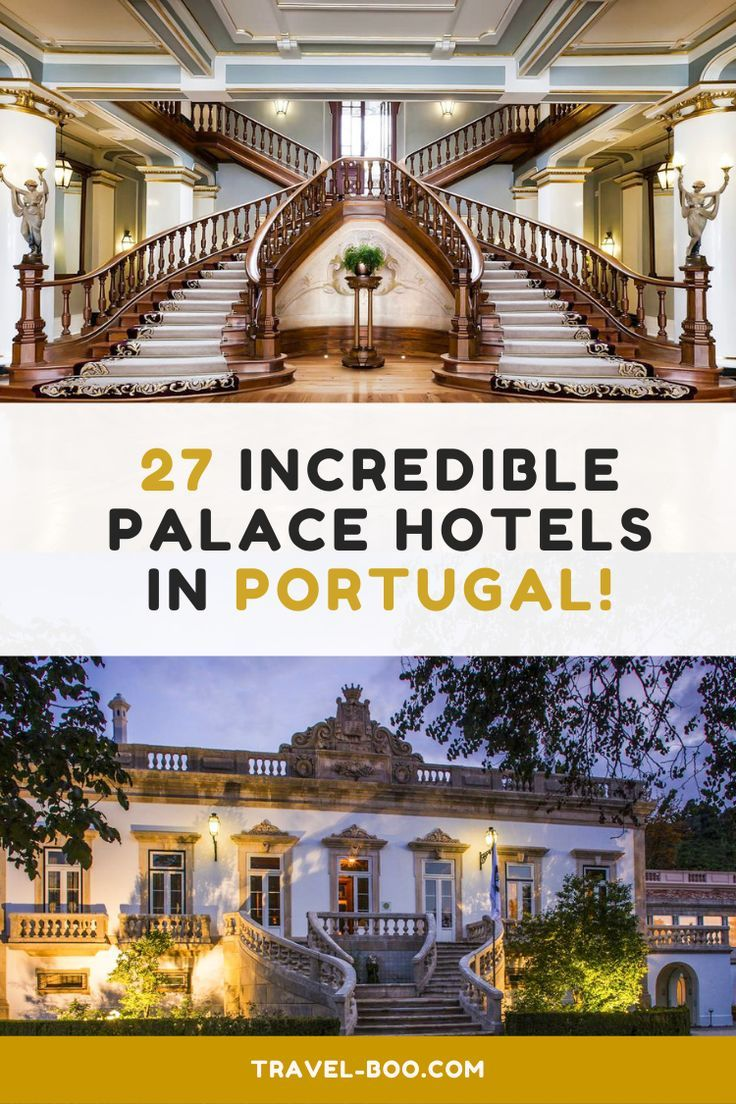 Incredible Palace Hotels & Manor Houses in Portugal! | travel-boo | Portugal & Spain Travel Blog