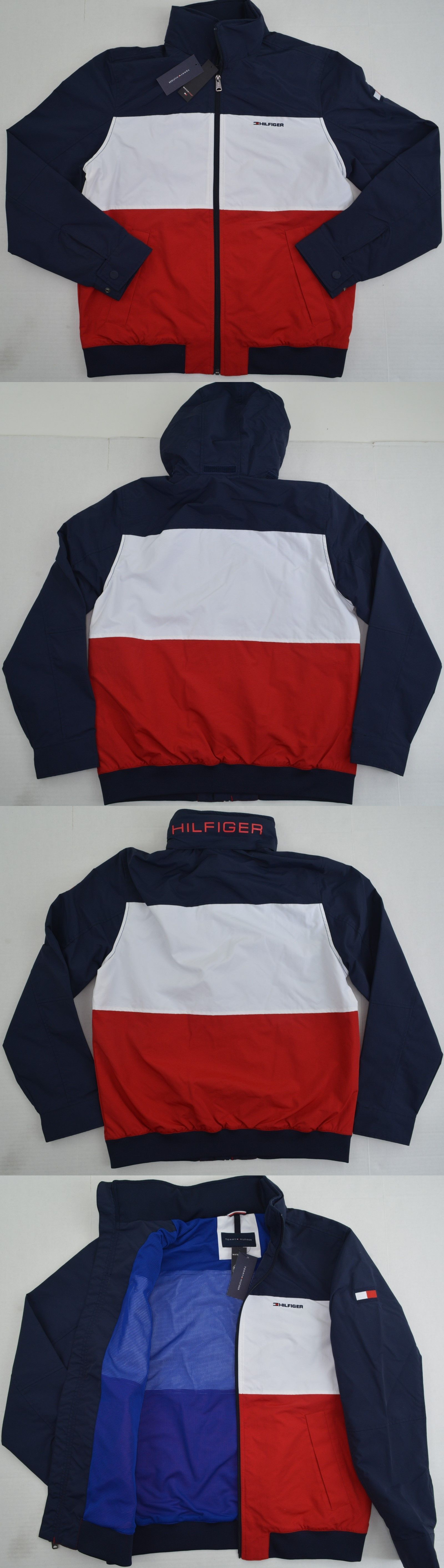 Other Kids Clothing and Accs 175640: Tommy Hilfiger Youth Kids S Flag Yacht  Jacket Outerwear Hoodie Waterstop Nwt -> BUY… | Kids outfits, Outerwear  jackets, Fashion