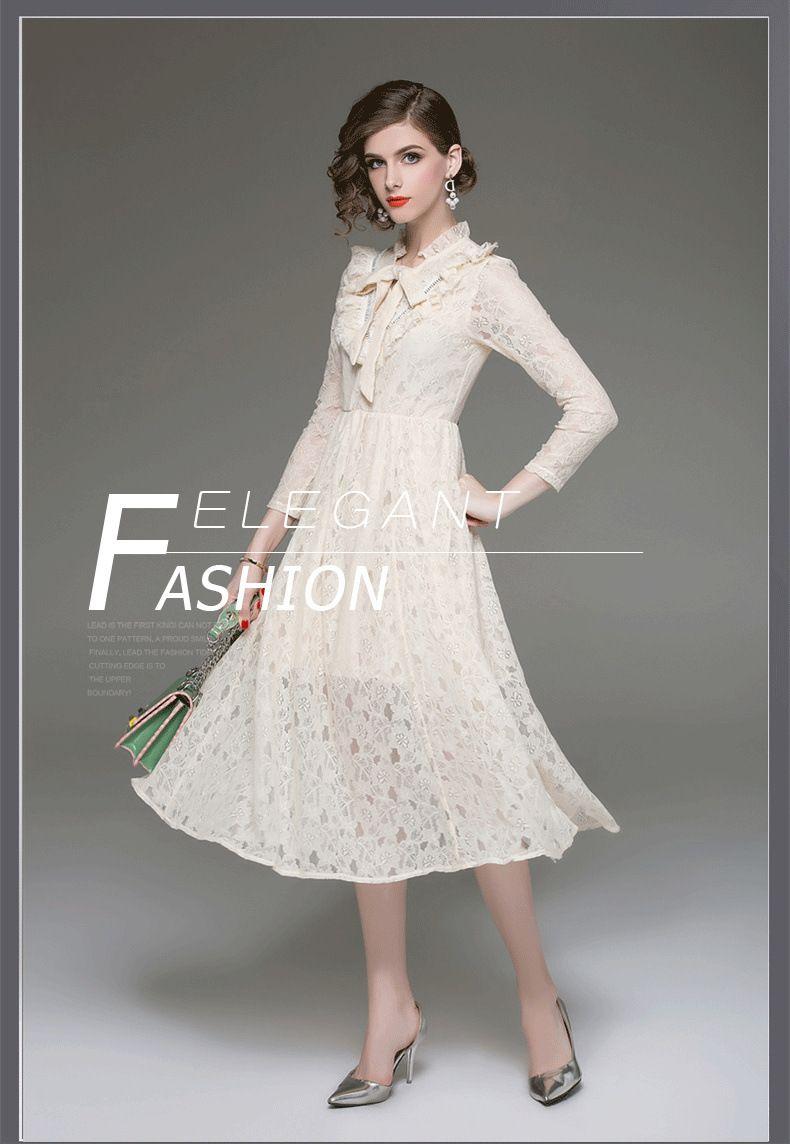 Beige Vintage Ruffles Dress Trend Inventors Old Fashion Dresses Ruffle Dress Dresses [ 1144 x 790 Pixel ]