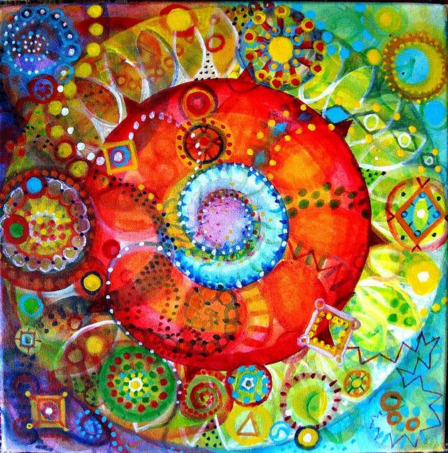 """There is something about circles the Beloved likes. Within the circle of a Perfect One there is an infinite community of light."" ~ Hafiz"