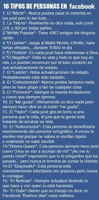 10 tips de personas en facebook