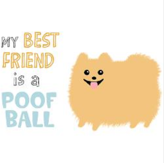 9fe39ac2 awww missing my old dog. She was the best poof ball friend ever :)