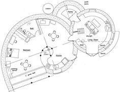 dome Floor Plans | Floor Plan for Spiral Dome Magic 1 | earthship ...