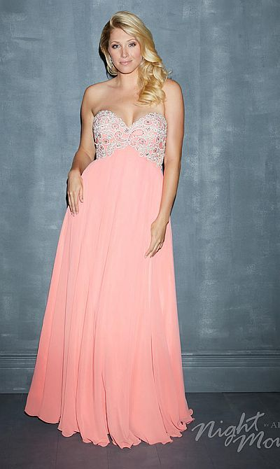 56934482d22 Alternate view of the Night Moves Plus Size 7120W Evening Dress image