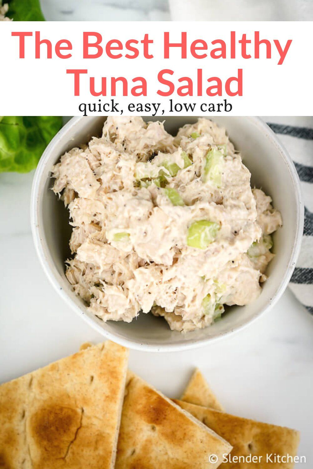 Healthy Tuna Salad Slender Kitchen Recipe Tuna Salad Recipe Healthy Healthy Tuna Healthy Tuna Salad