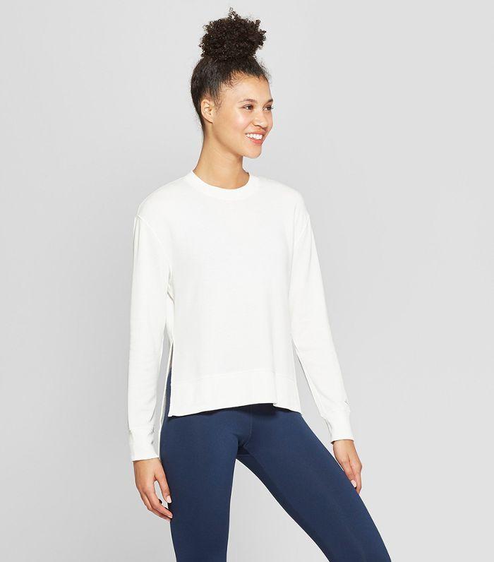 5d6fd73998d4 Women s Cold Weather Compression Mock Neck T-Shirt - C9 Champion True White  Xxl