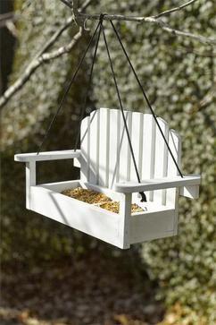 miniatuur vogel schommelstoel... gedeeld door marjolein 131 #vogelhausbauen