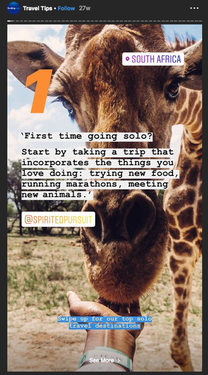 20 Creative Instagram Stories Examples From Brands Sked Social Creative Instagram Stories Instagram Story Instagram Business