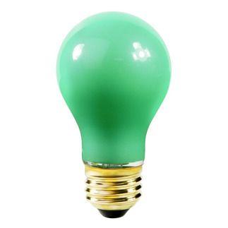 A19 Incandescent Light Bulb 60w 130v Satco S4986 Light Bulb Incandescent Light Bulb Colored Light Bulbs