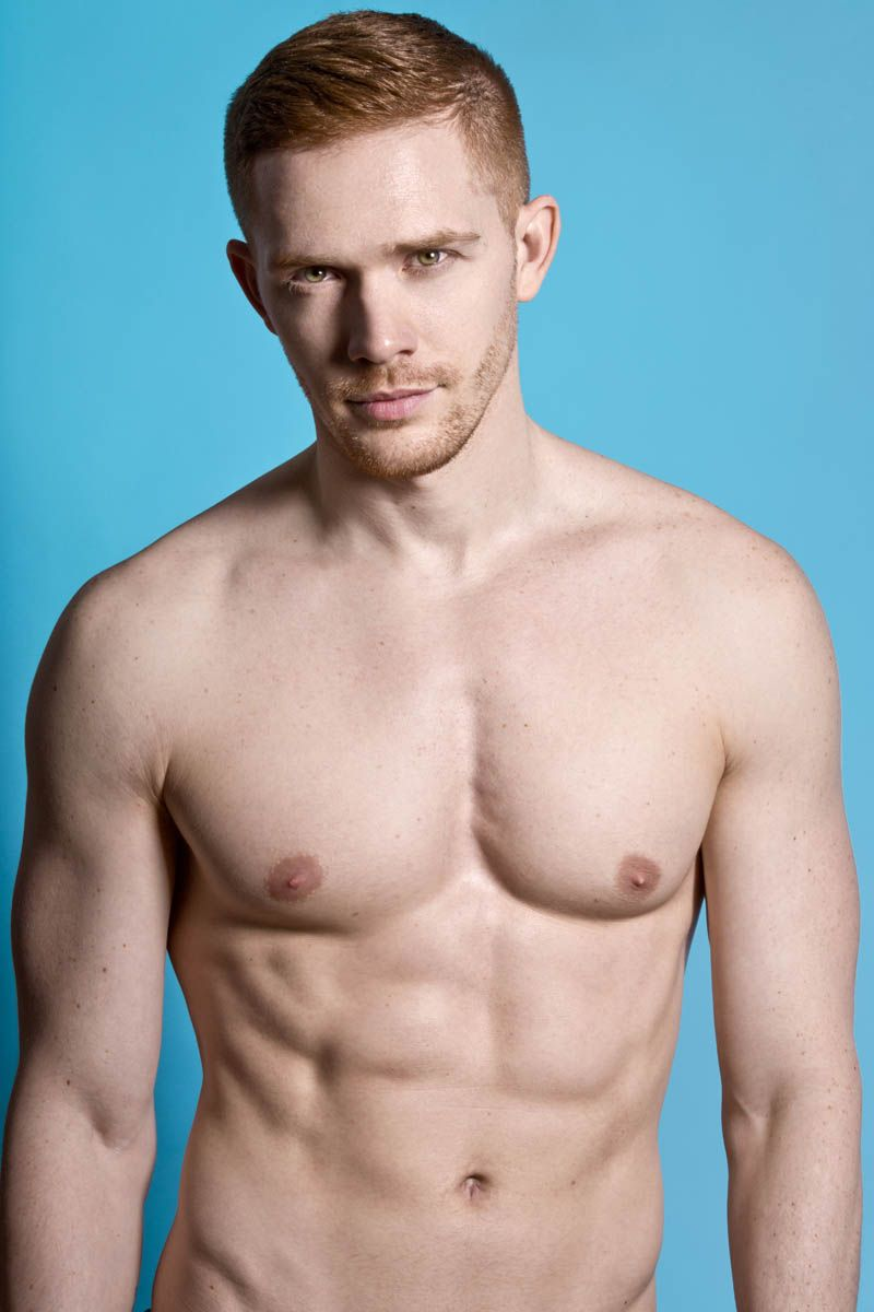 Naked male redheads
