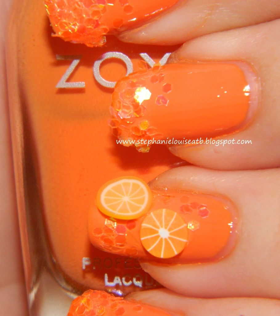 Someone LOVES Orange! Zoya Arizona