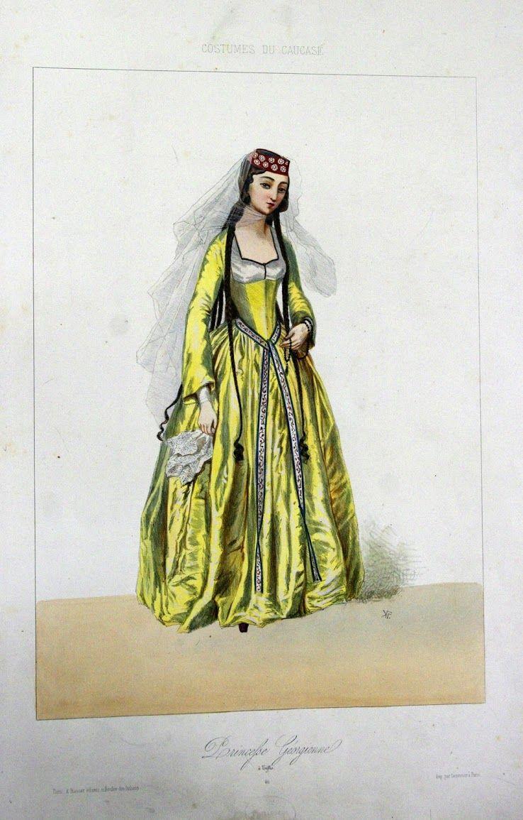 Национальная одежда народов Кавказа 2
