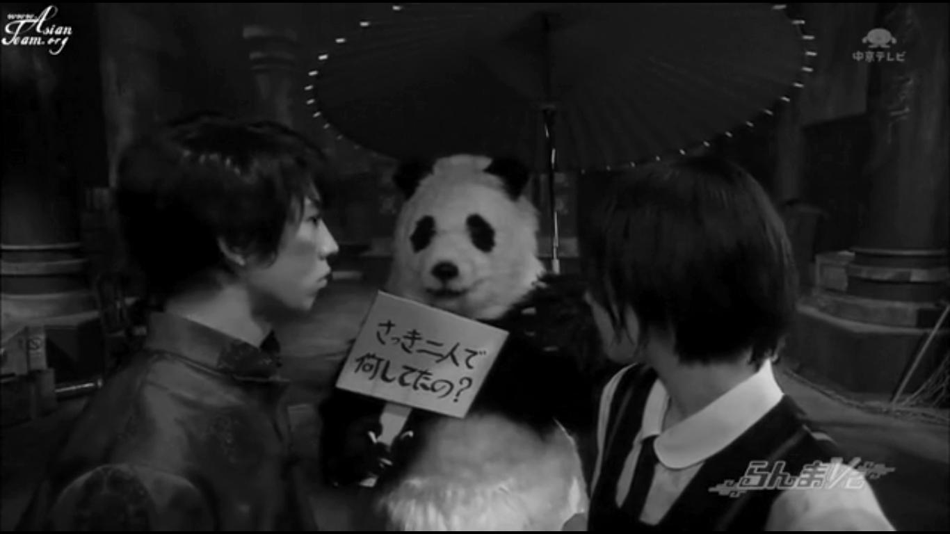 Ranma 1 2 Aragaki Yui Kaku Kento Live Action Akane Ranma Japanese Panda Black And White Indie Films Drama Movies Ranma