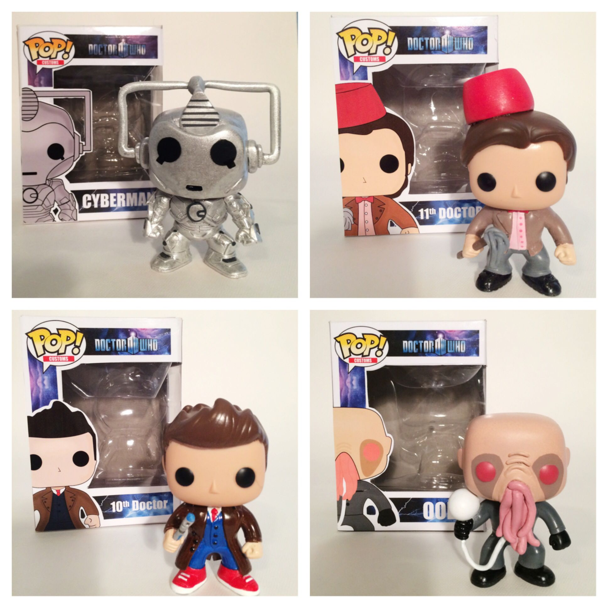 Custom Doctor Who Pops Pop Toys Pop Vinyl Figures Vinyl Figures