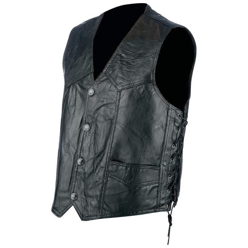 69ab6816fa8 Hog Leather Biker Vest – Barsa Store