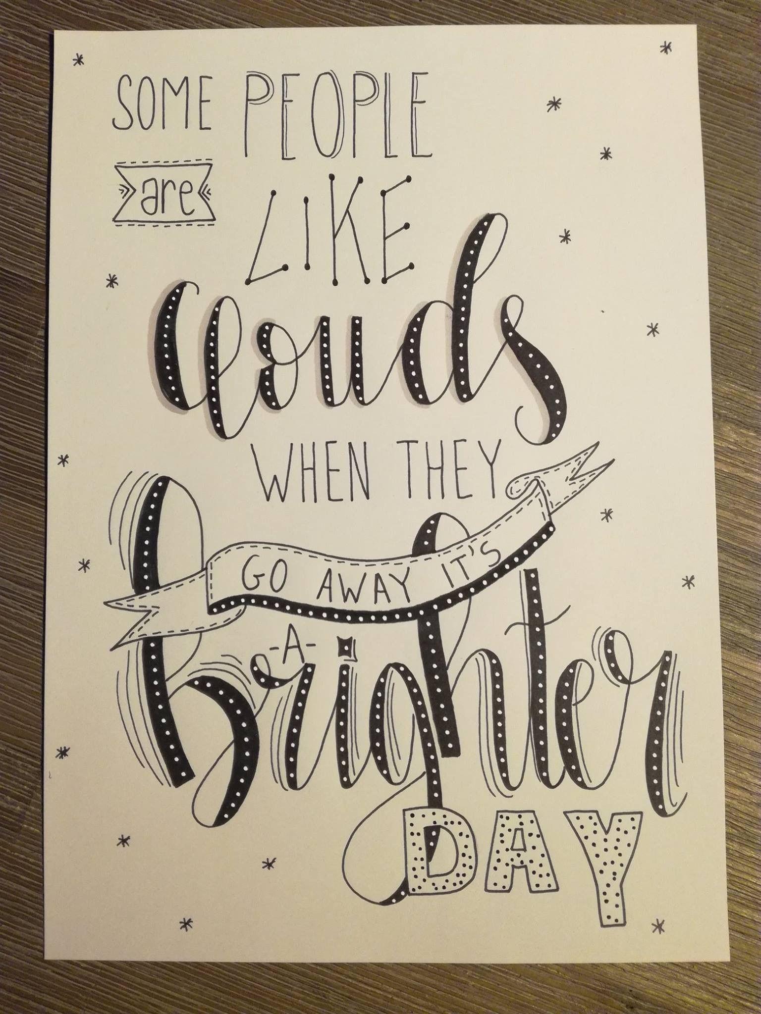 Pin Von Chloe Vinson Auf Do A Doodle Handlettering Zeichnen