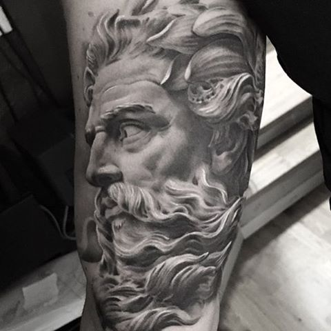 P B Zeus Zeus Tattoo Pinterest