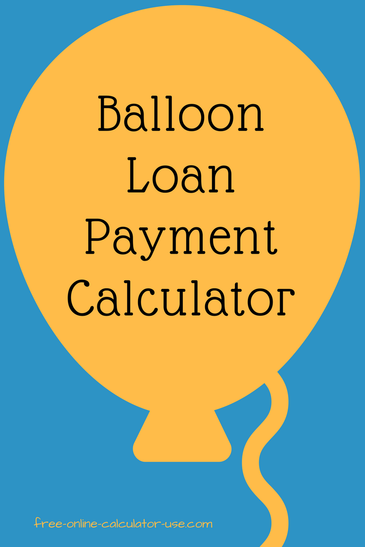 loan amortization schedule with balloon