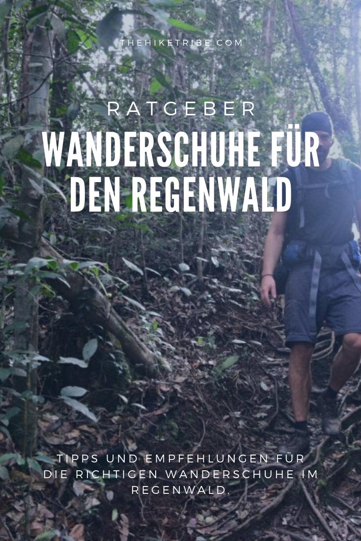 Hier erfährst du welche Wanderschuhe wir für den Regenwald