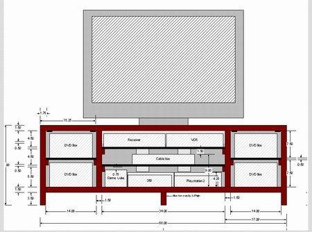 Como construir un rack para lcd buscar con google rack - Como hacer un mueble para tv ...