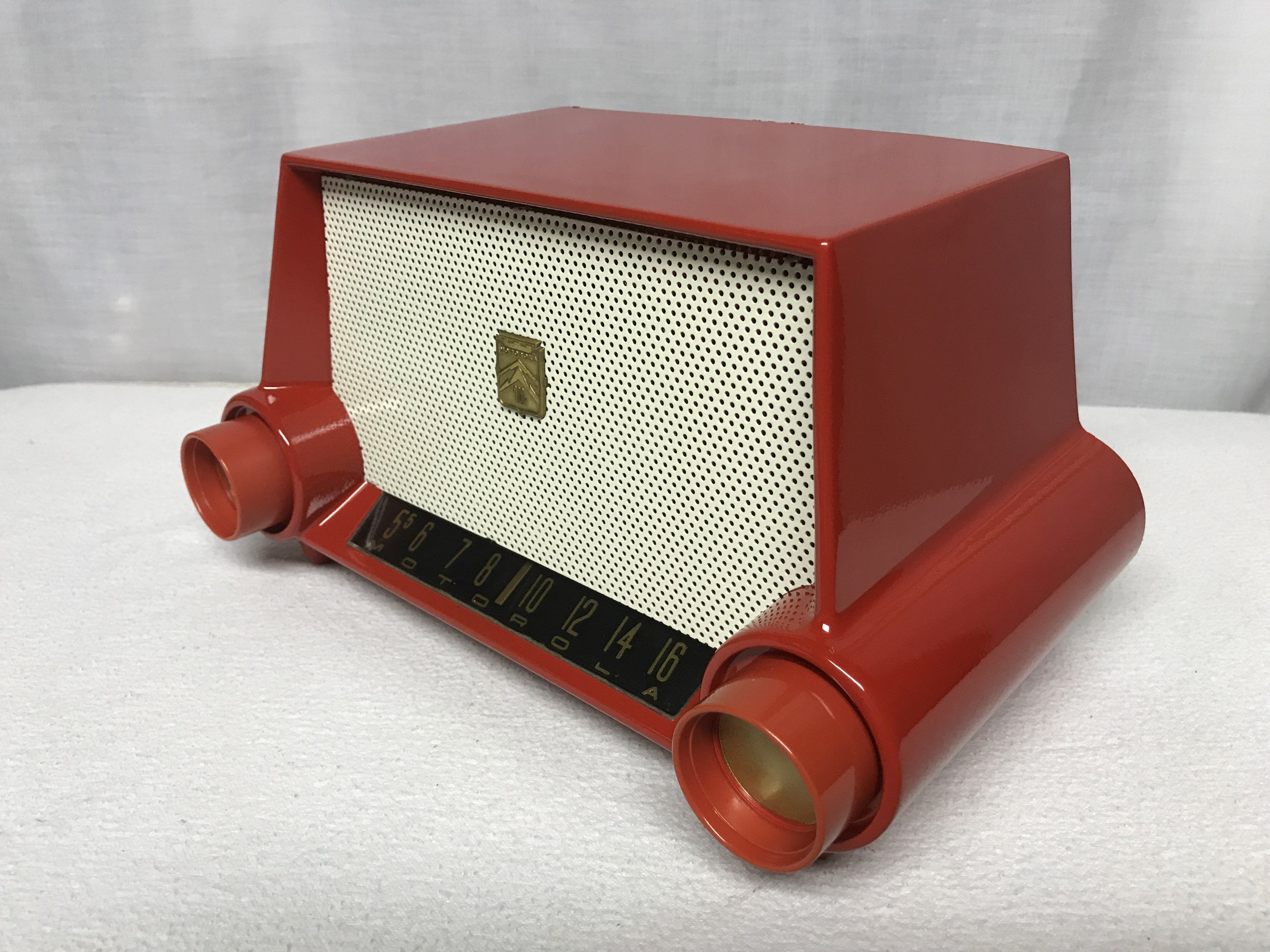 Gorgeous Motorola 53h Restored Tube Radio In 2020 Retro Radios