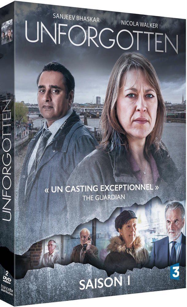 UNFORGOTTEN saison 1 DVD NEUF
