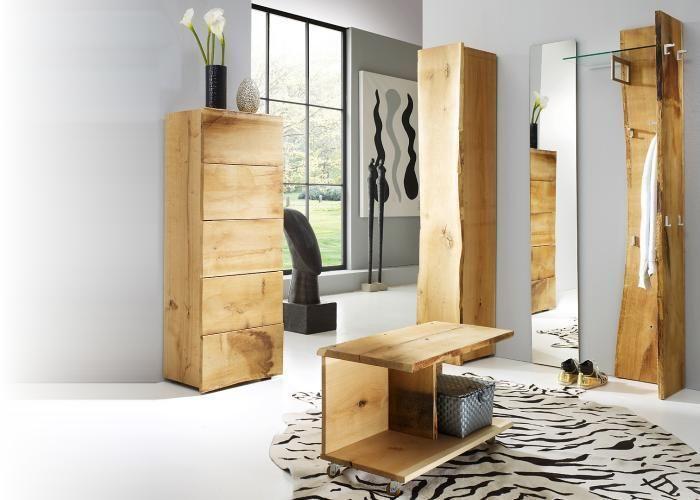 Sehr Schone Massive Garderobe Aus Eiche Woodline Garderobe Eiche
