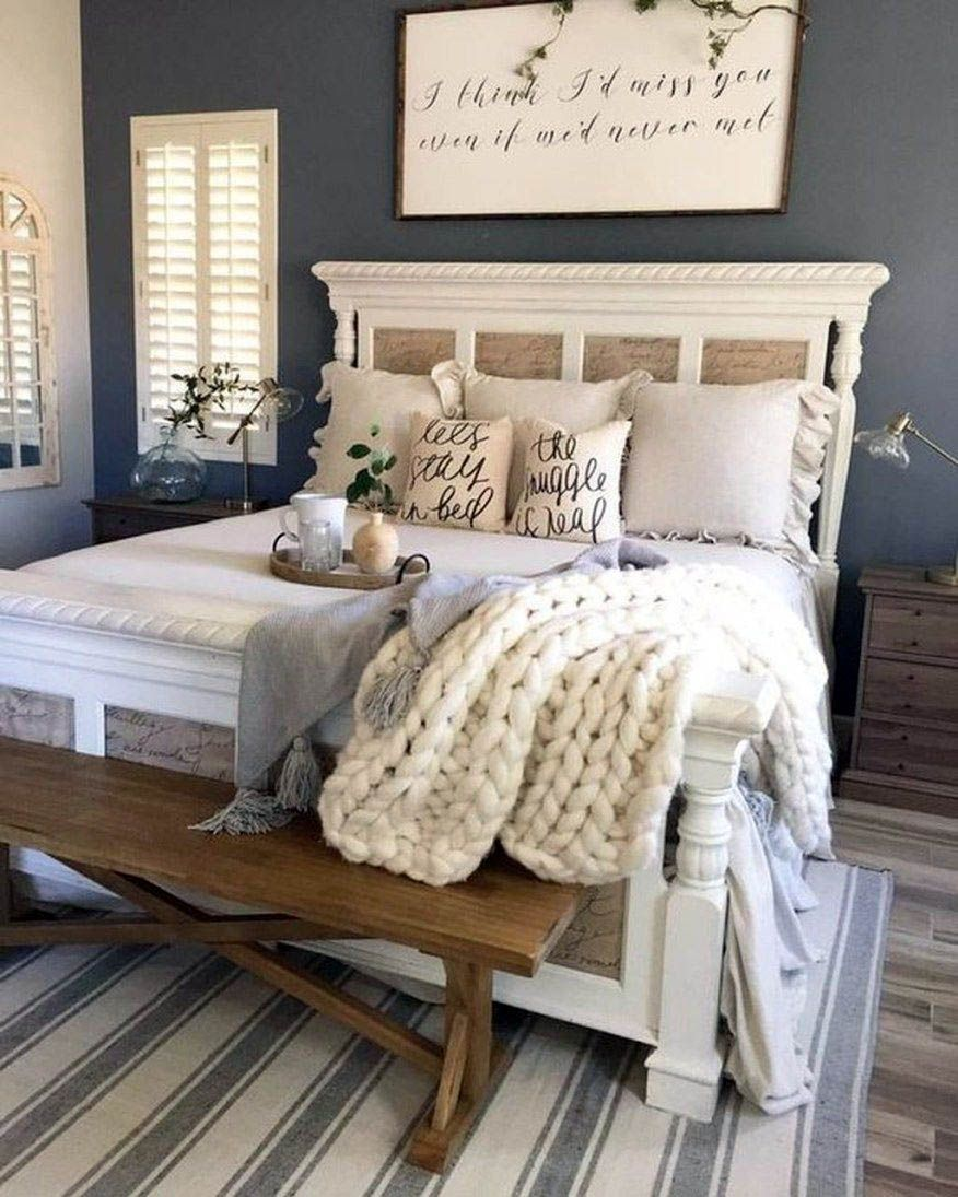 Terrific Master Bedroom Ideas Romantic One And Only Homesable Com Farmhouse Bedroom Decor Remodel Bedroom Bedroom Inspirations