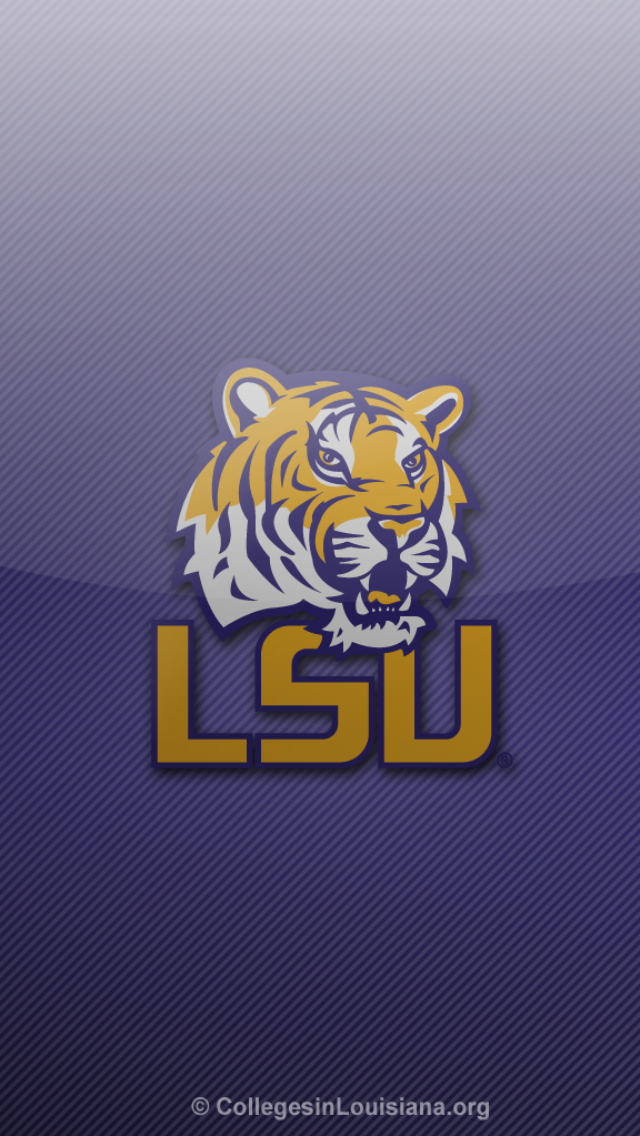 LSU Tigers Fade iPhone 5 Wallpapers (With images) Lsu