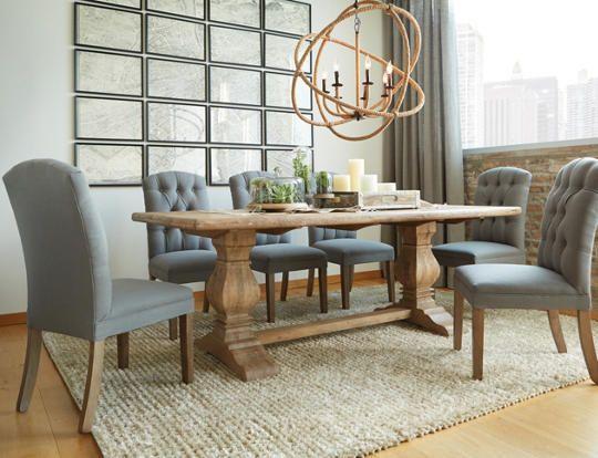San Rafael Dining Table Art Van Furniture Dining Room
