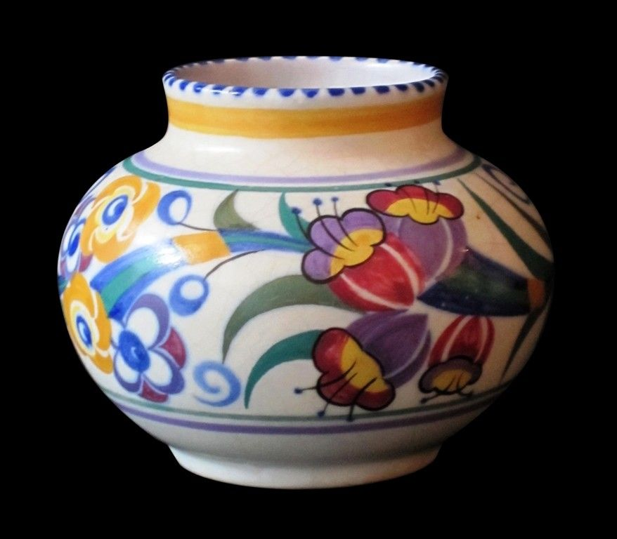 A Carter Stabler Adams Poole Pottery Vase Poole Pottery
