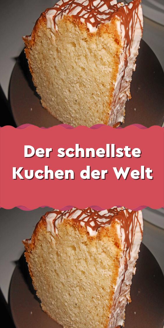 Der Schnellste Kuchen Der Welt In 2020 Schneller Kuchen Joghurt Kuchen Kuchen Rezepte Einfach
