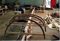 Le chantier 2001-2004 - Yoles du Val Maubuée