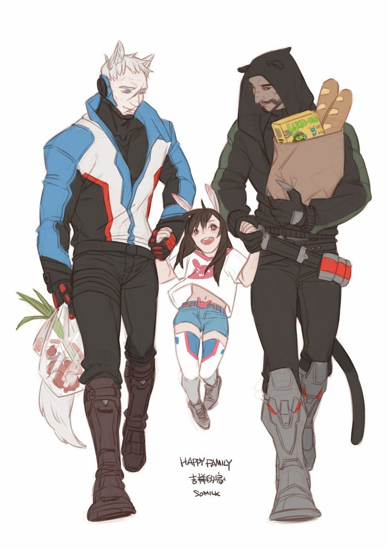 Soldier 76 Reaper And Dva Overwatch Ships Overwatch Soldier