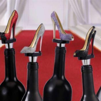 Running Shoe Wine Stopper