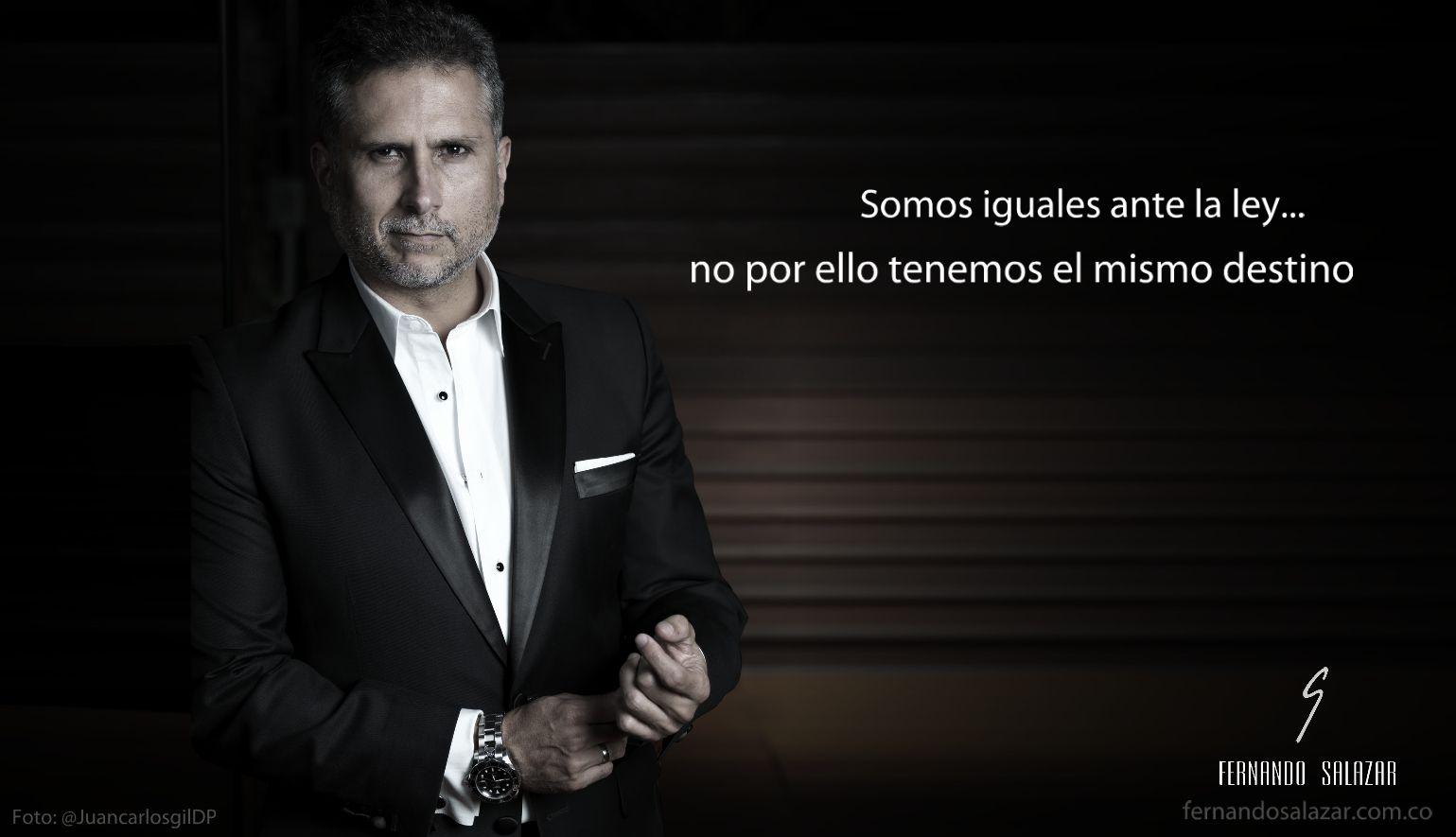 Marlon Moreno en la nueva campaña de Fernando Salazar.  Hecho a la Medida de TU Mundo