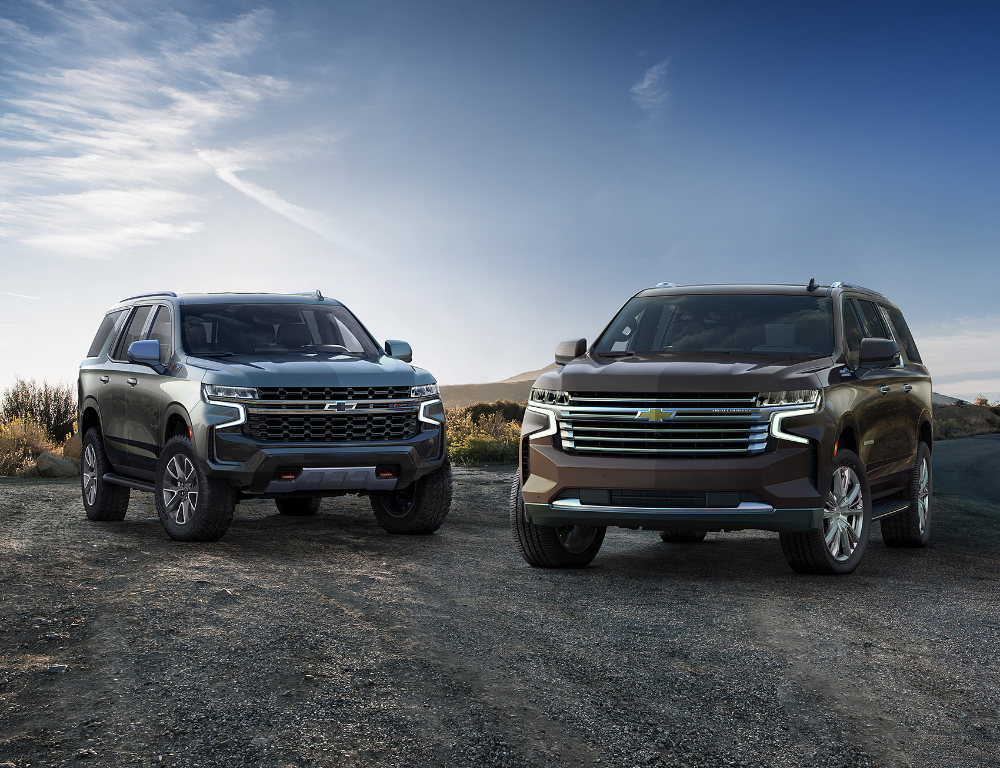 Chevy Suburban Tahoe Updated With Ota For 2021 Chevrolet Tahoe