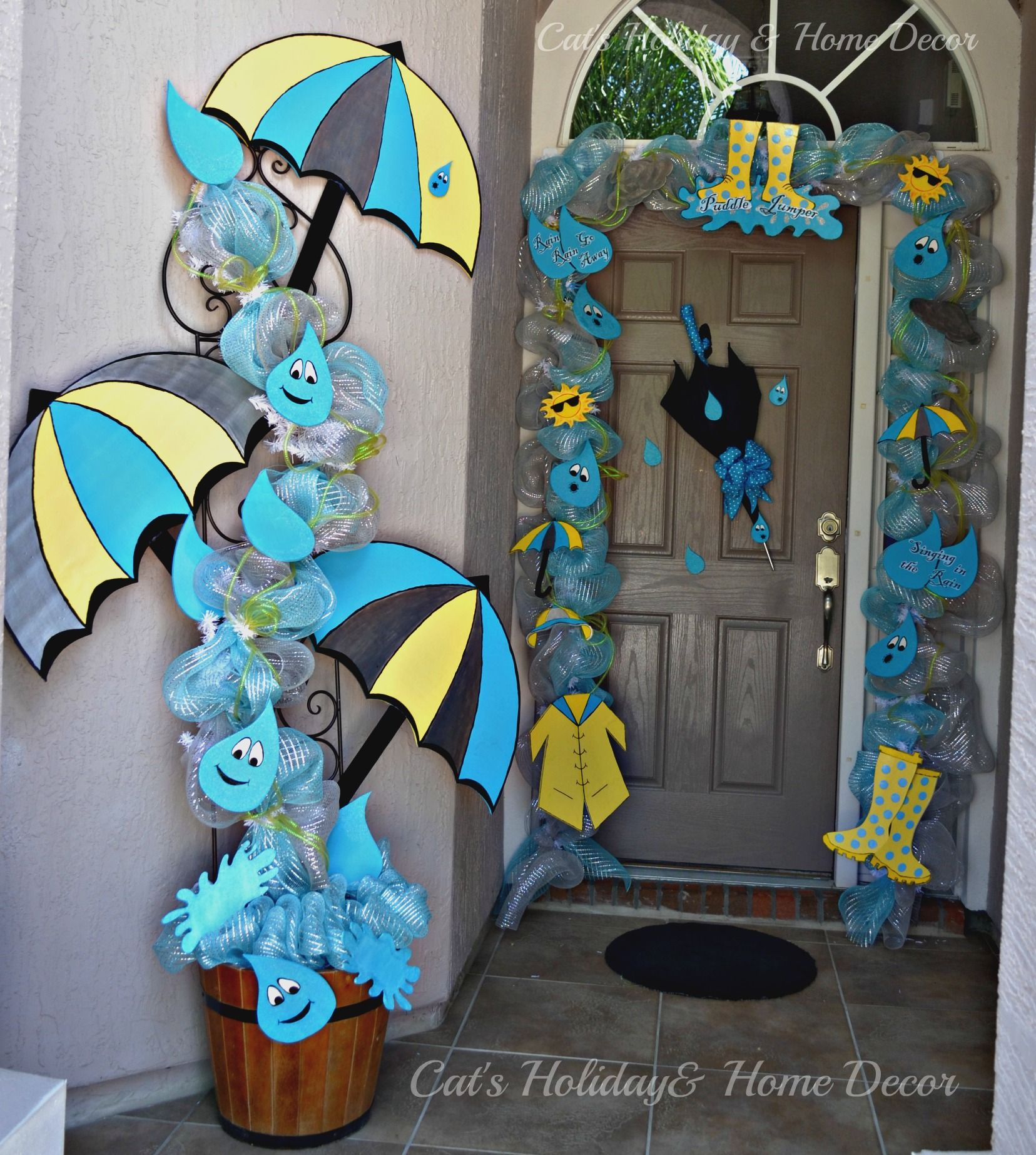One of my favorites by Cheryl Foster....spring door decor...