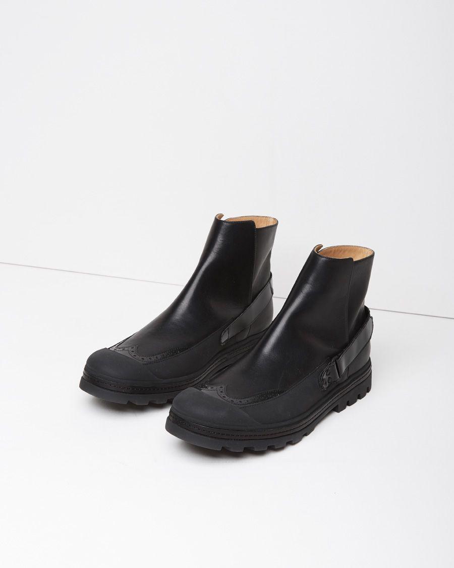 MM6 Maison Martin Margiela Black & Beige Check Rain Boots geniue stockist cheap online low cost cheap price buy cheap tumblr GulSkYfG