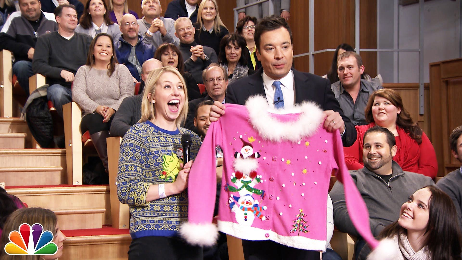 12 Days of Christmas Sweaters: Day 4 | The Show | Pinterest | Jimmy ...