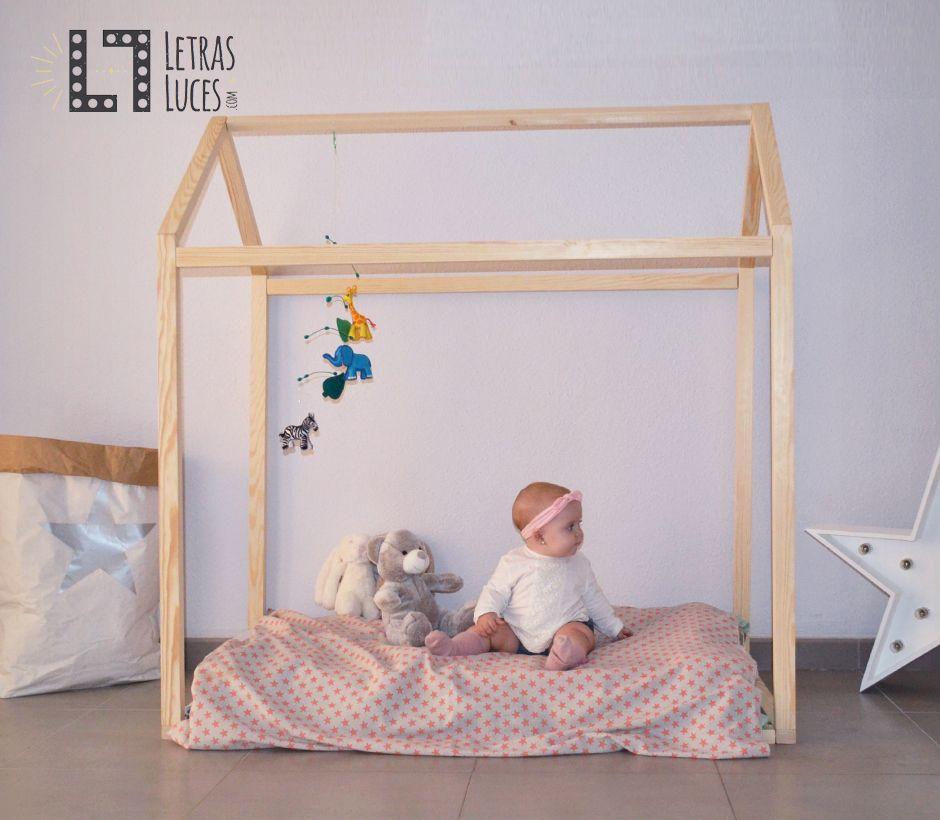 Cama casita estilo montessori decoracion infantil for Decoracion habitacion infantil montessori