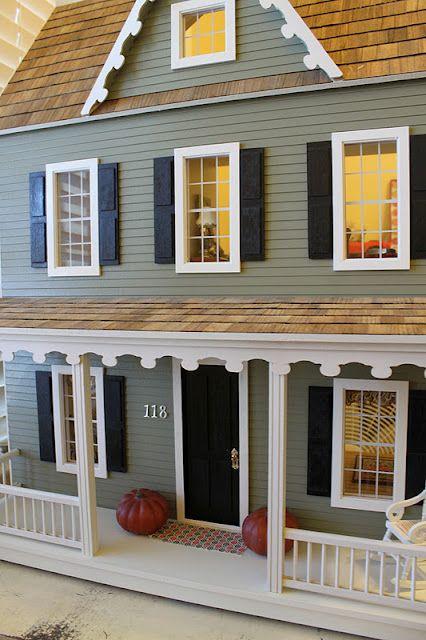 Beautiful Diy Dollhouse Kit From Hobby Lobby Doll House Plans
