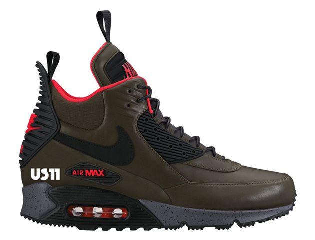 Nike Air Max 90 Sneakerboot (Zima 2015