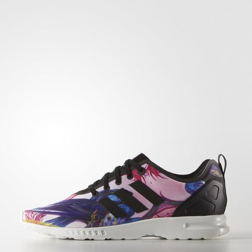 dcf4fecf9 adidas ZX Flux Smooth Shoes - Black