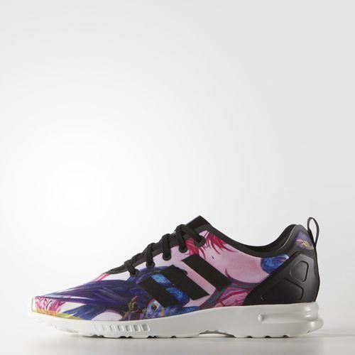 pick up 123e3 9e18d adidas ZX Flux Smooth Shoes - Black   adidas Australia