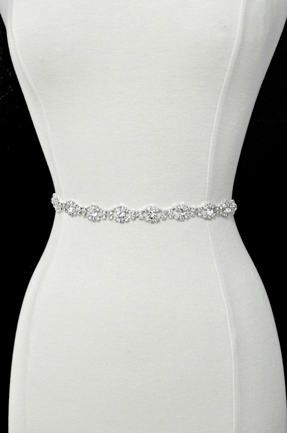 e12bfeeaa706 SALE All around bridal belt Wedding sashes and belts Wedding dress belt  Thin bridesmaid belt beaded | Products in 2019 | Wedding dresses, Wedding  sash, ...