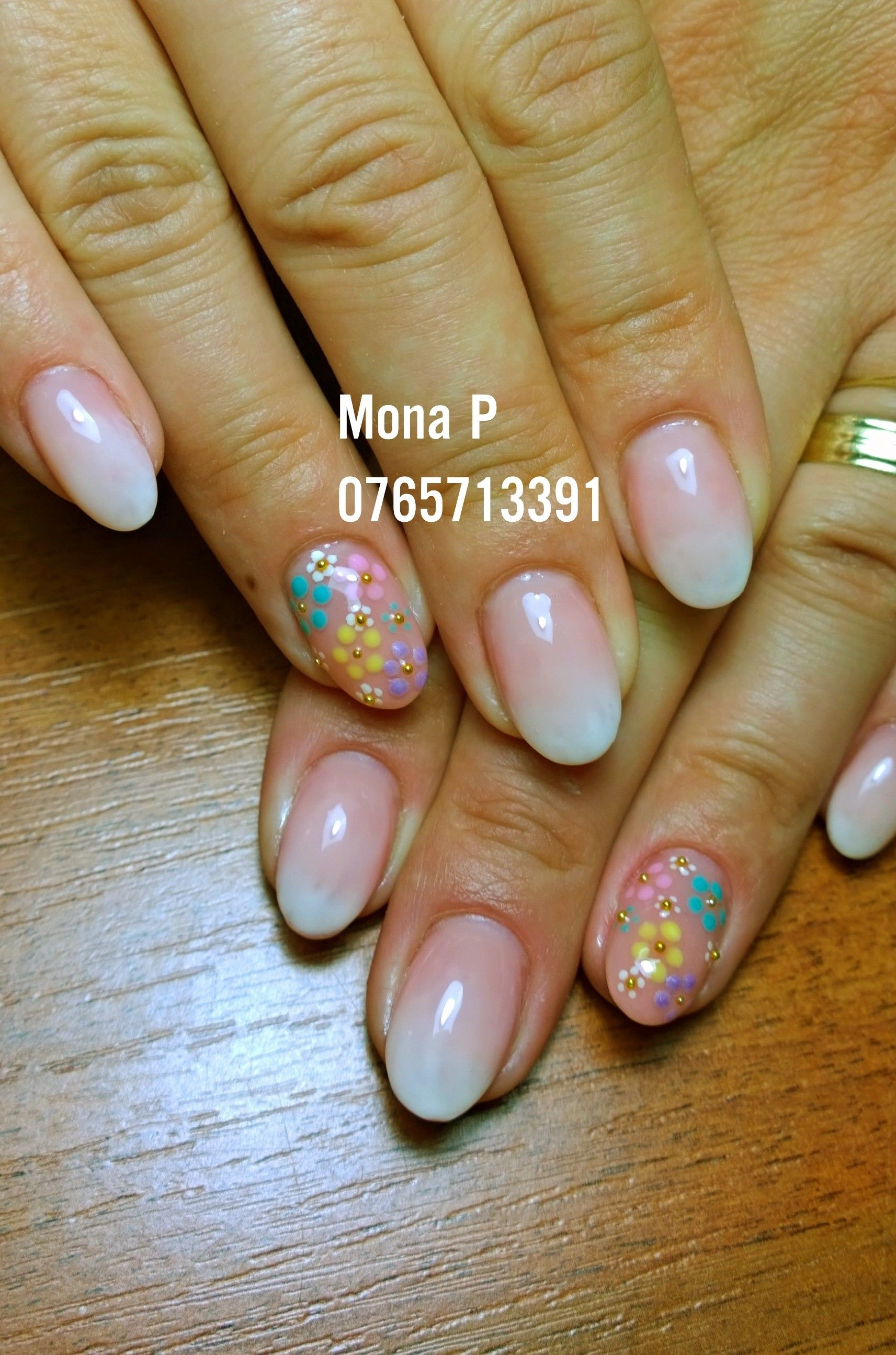 About baby boomer nail art tutorial by nded on pinterest nail art - Baby Boomer Flower Nail Art Nail Art By Mona P Pinterest Nail Art Baby