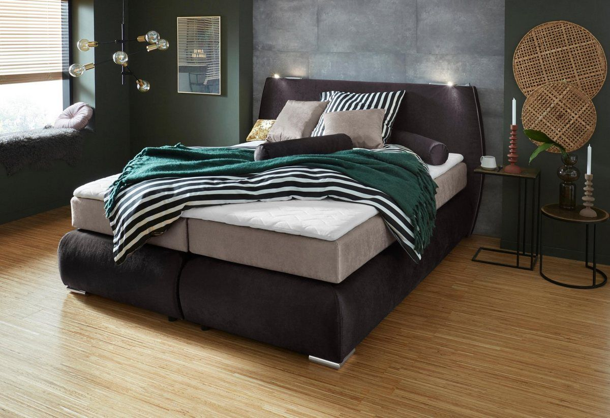Collection Ab Boxspringbett Inklusive Topper Boxspringbett Bett Und Haus Deko